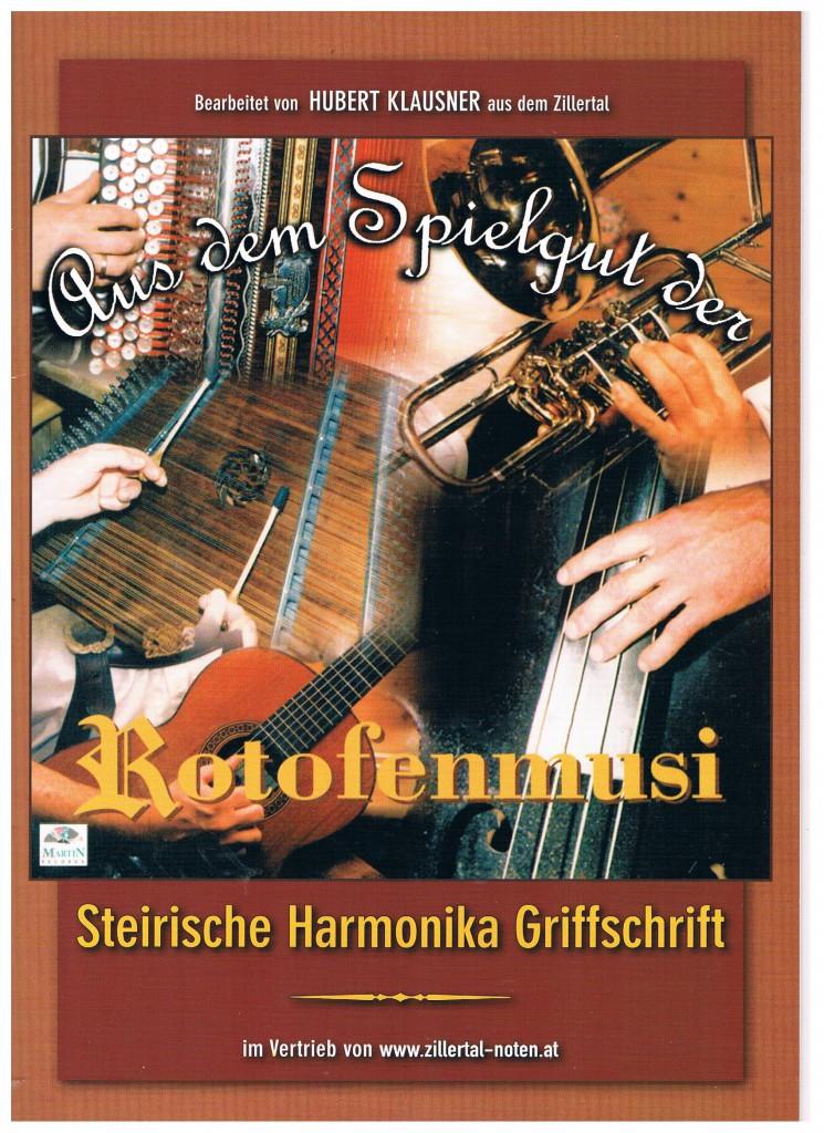 Echt Zillertalerisch Noten für Steirische Harmonika
